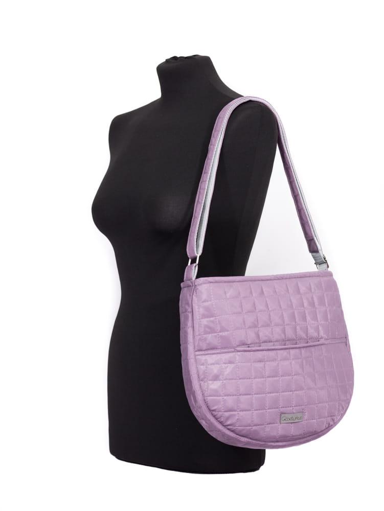 11b6d7a413537 ... sportowa torebka pikowana, pikowana mała torebka, fioletowa torebka na  ramię, podręczna torebka na ...